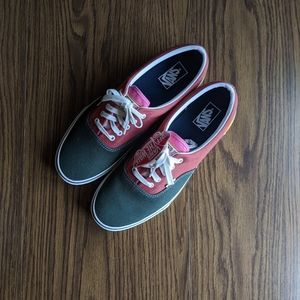 NWT Men's Vans varsity Era multicolor shoes